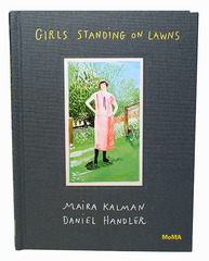 Girls Standing on Lawns