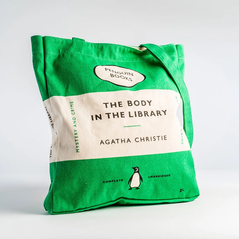 Tote Bag - The Body in the Library