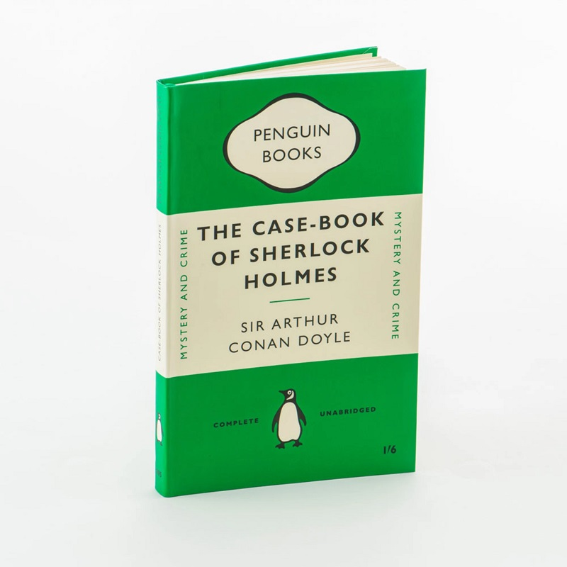 Notebook - The Case-Book of Sherlock Holmes
