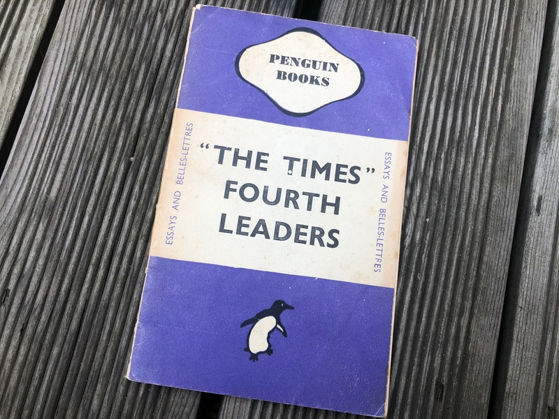 'The Times' Fourth Leaders [1945년 초판본]